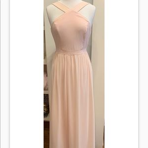 LULU's brides maid or formal pale rose/blush dress